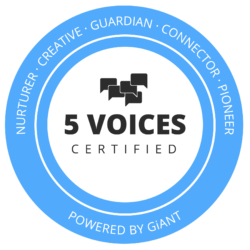 5 voices Certified Badge