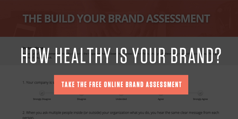 Build Your Brand Assessment CTA