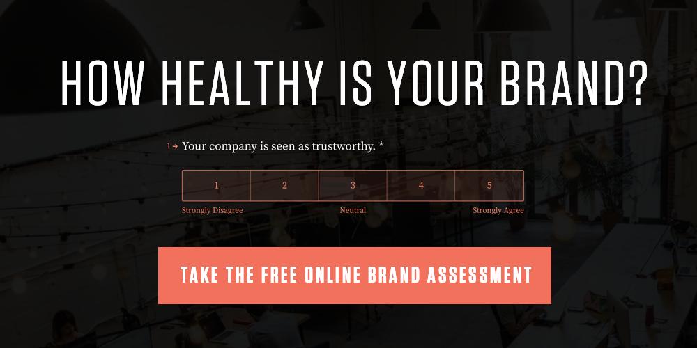 Online Brand Assessment CTA
